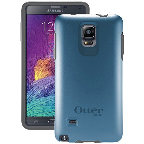 Otterbox Samsung Galaxy Note 4 Symmetry Series Case - Retail Packaging - Blue Print Ii (Best Samsung Galaxy 4 Case)