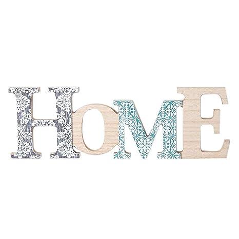 YUENA CARE Lettres Décoratives Murales Ou à Poser Sans Clou Style D Mot  Aanglais Home 32.5