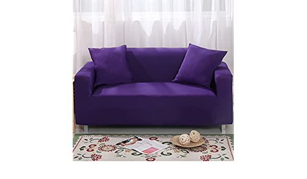 Simple Elegant Amazon MAXWOW Stretch sofa cover For pets Anti slip Quilted 1 piece Polyester spandex all inclusive Couch cover Living room purple sofa Kitchen & Modern - Beautiful sure fit waterproof sofa cover Trending