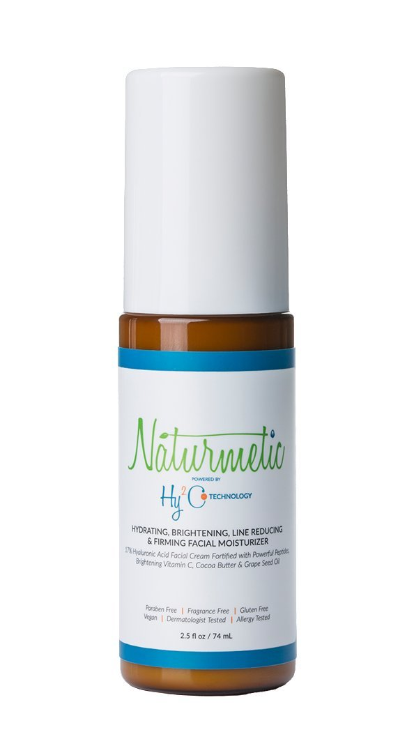 Naturmetic Hydrating, Brightening, Line Reducing & Firming Facial Moisturizer 17% Hyaluronic Acid