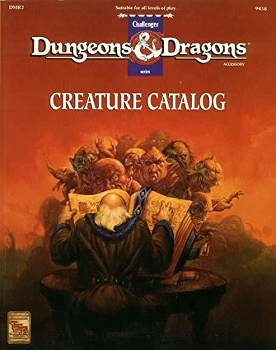 Creature Catalog Dungeons And Dragons Accessory Dmr2 John Nephew
