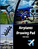 united airplane lego - Airplanes Drawing Pad for Kids: Draw, Sketch and Color Your Favorite Aircraft