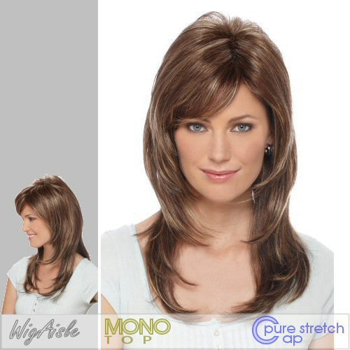 DIXIE (Estetica Design) - Synthetic Monofilament Full Wig in R26_613 (Estetica Designs Monofilament Wigs)