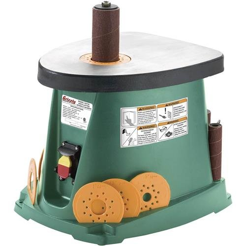 Grizzly G0739 Benchtop 1/2 HP Oscillating Spindle Sander by Grizzly