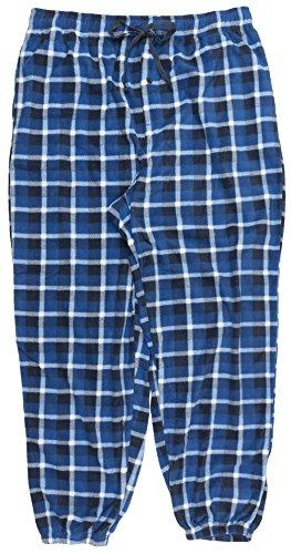 Harbor Bay Big and Tall Mens Pajama Pants in Blue