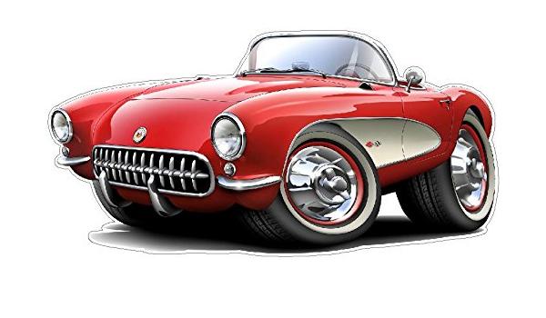 LARGE SIZE  12 X 16 1956 Chevrolet Corvette New Metal Sign