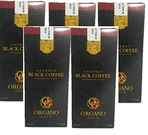 5 Box of Organo Gold Gourmet Black Coffee 100% Certified Ganoderma Extract Sealed by Organo Gold [Foods] from Garden-Outdoor