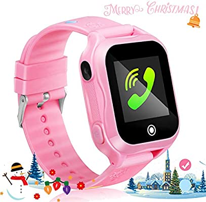 GUANLV Kids Smartwatch Kids Smart Watch Phone with Waterproof and App Remote Control Unlocked Kids SmartWatches Phone with Voice Chat Touch Screen ...