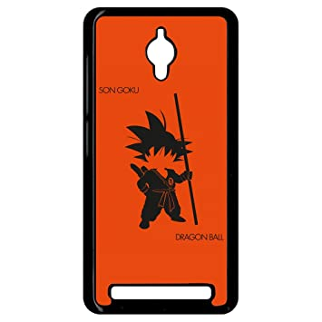 Carcasa Asus Zenfone Go Dragon Ball Son Goku Kid: Amazon.es ...