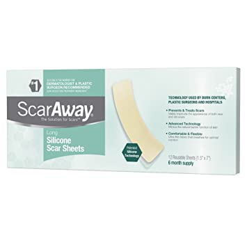 Amazon Com Scaraway Long Professional Grade Silicone Scar Treatment