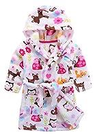 Ameyda Unisex Kids Cute Hoodie Fleece Robe