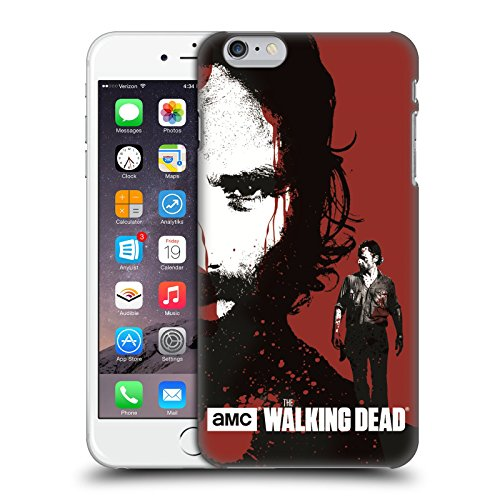 Official AMC The Walking Dead Bloody Face Rick Gore Hard Back Case for Apple iPhone 4 / 4S