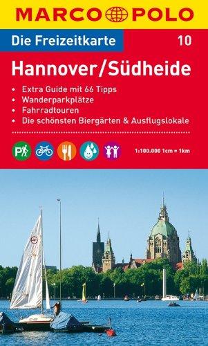 MARCO POLO Freizeitkarte Hannover, Südheide 1:100.000