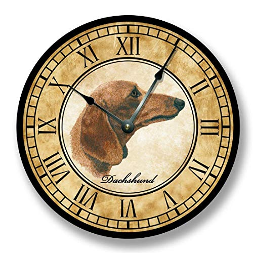 Fancy This Dachshund Dog Wall Clock Antique ()