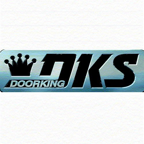 DOOR KING 1812085 Surface Mount Gold-Plated Faceplate Blac (Gold Plated Faceplates)