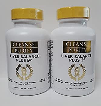 CLEANSE PURIFY LIVER BALANCE PLUS (240 Tablets) 4-8 Week Supply DIETARY SUPPLEMENT