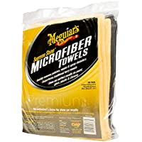 Meguiar's Supreme Shine Microfiber Towels – Reusable...
