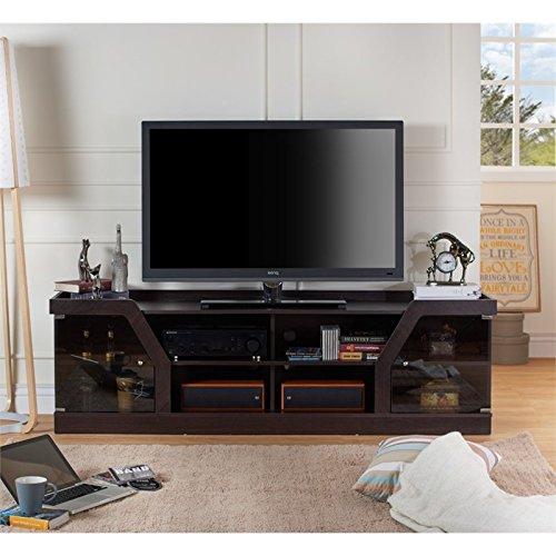 Furniture of America Rania 71'' TV Stand in Espresso