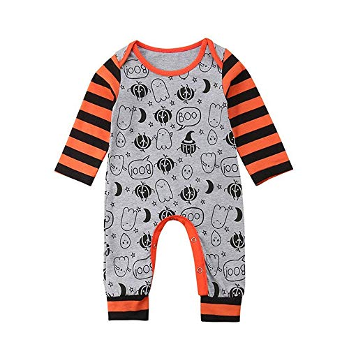 WOSENHK Newborn Boys Halloween Outfits Baby Girls Clothes