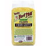 Bob's Red Mill, Organic, Polenta, Corn Grits, 24 oz pack of 2