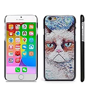Mini - Stylish Patterned Hard Plastic Snap On Case for iPhone 6