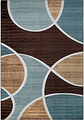 Amazon Better Homes And Gardens Geo Waves Area Rug 7 X 10 Kitchen Dining