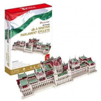 Rompecabezas 3D de la CubicFun 'El húngaro Parliament Building - Budapest'