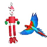 B & P BP1195A Small Pet chew Snowman Bird Toy