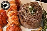 Surf & Turf - 2 (6oz) Filet Mignons and 2 (6oz) Cold Water Lobster Tails Steak Delivered