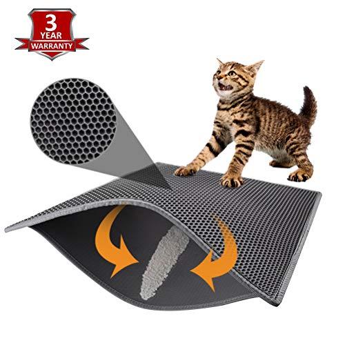 Pieviev Cat Litter Mat Anti-Tracking Litter Mat of Jumbo Size 30