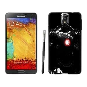 NEW Unique Custom Designed Samsung Galaxy Note 3 N900A N900V N900P N900T Phone Case With Iron Man Black Armour_Black Phone Case wangjiang maoyi by lolosakes
