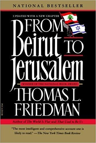 image for From Beirut to Jerusalem Revised Edition by Friedman, Thomas L. published by Picador (2012)