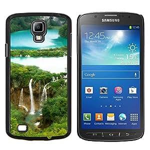 EJOOY---Cubierta de la caja de protección para la piel dura ** Samsung Galaxy S4 Active i9295 ** --Cascada Forrest
