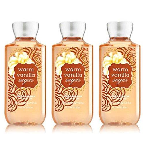 Body Works Sugar - Bath & Body Works Warm Vanilla Sugar Body Shower Gel Pack of 3