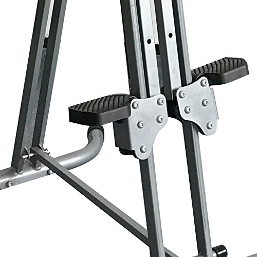 Genmine Vertical Climber Fitness Climbing Machine Exercise Stepper Cardio Folding Climbing Stair Step Machine Total Body Workout For Home Gym Fitness Equipment by Genmine (Image #2)