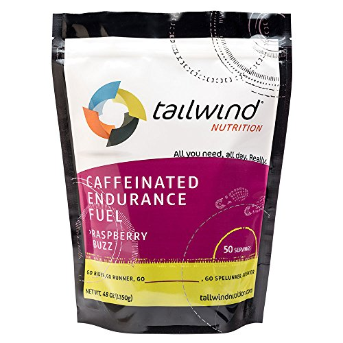 Tailwind Nutrition Caffeinated Endurance Fuel Raspberry Buzz 50 Serving