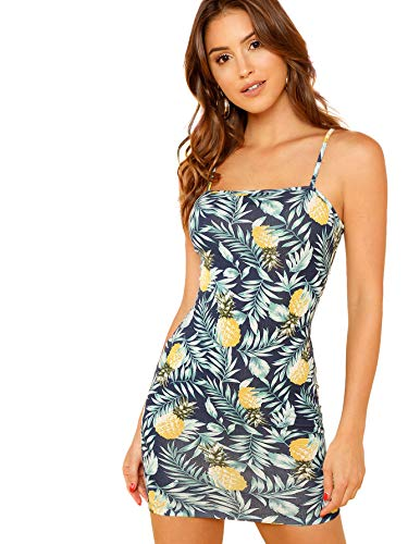Mini Women's Floerns Print Cami Dress 1 Multi Summer Bodycon tzwOqHnw7