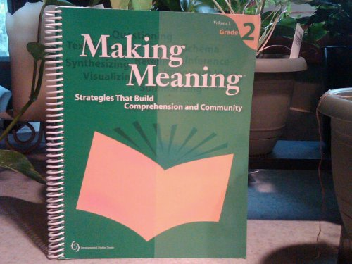 Making Meaning, Vol. 2: Strategies that Build Comprehension and Community, Grade 2 ebook