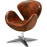 Best Selling Modern Petal Chair, Brown