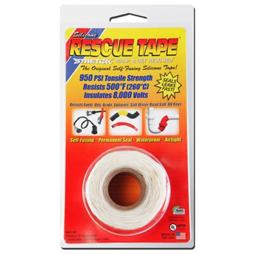 Rescue Tape Self-fusing Silicone Tape (Clamshell White, 1-Inch by ()