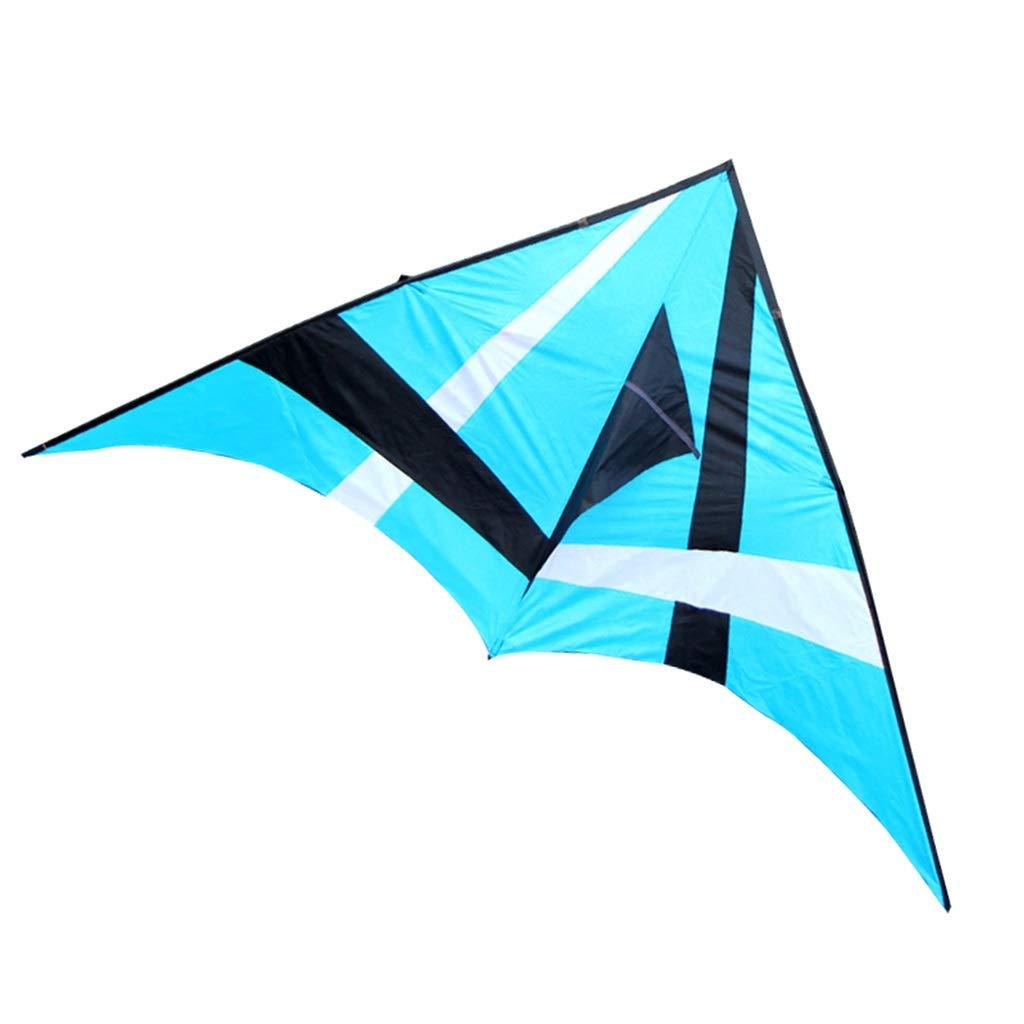 大人の凧、大きい凧の傘の布の樹脂棒の携帯用飛行おもちゃ :、280* 140CMを飛ばすこと容易な多彩な三角形のそよ風 (色 (色 :* 赤) B07R3KKSTX 青 青, 下山珈琲:1bcc2bb2 --- ferraridentalclinic.com.lb