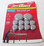 Waxman Super Sliders==Table & Chair Pack--20 Self-Stick Pieces