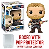 Funko Pop! Marvel: Thor Ragnarok - Thor Gladiator Suit #240 Vinyl Figure (Bundled with Pop BOX PROTECTOR CASE)
