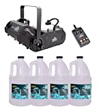 Chauvet DJ Hurricane 1800 H1800 Flex Fog/Smoke Machine W/4 FJU Gallons Fog Juice