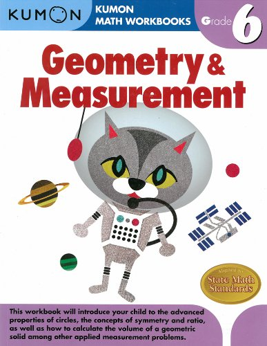 Geometry & Measurement Grade 6 (Kumon Math Workbooks): Kumon ...