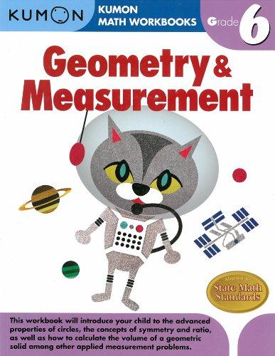 Counting Number worksheets geometry worksheets year 9 : Geometry & Measurement Grade 6 (Kumon Math Workbooks): Kumon ...