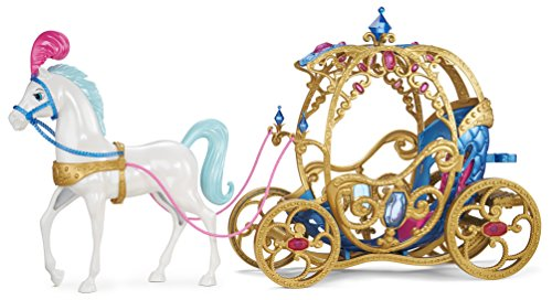 517bEIv52ZL - Mattel Disney Princess Cinderella Horse and Carriage(Discontinued by manufacturer)