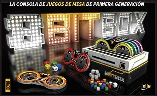 Devir 8Bit Box - Juego Videoconsola de Tablero, Castellano, Multicolor: Amazon.es: Juguetes y juegos