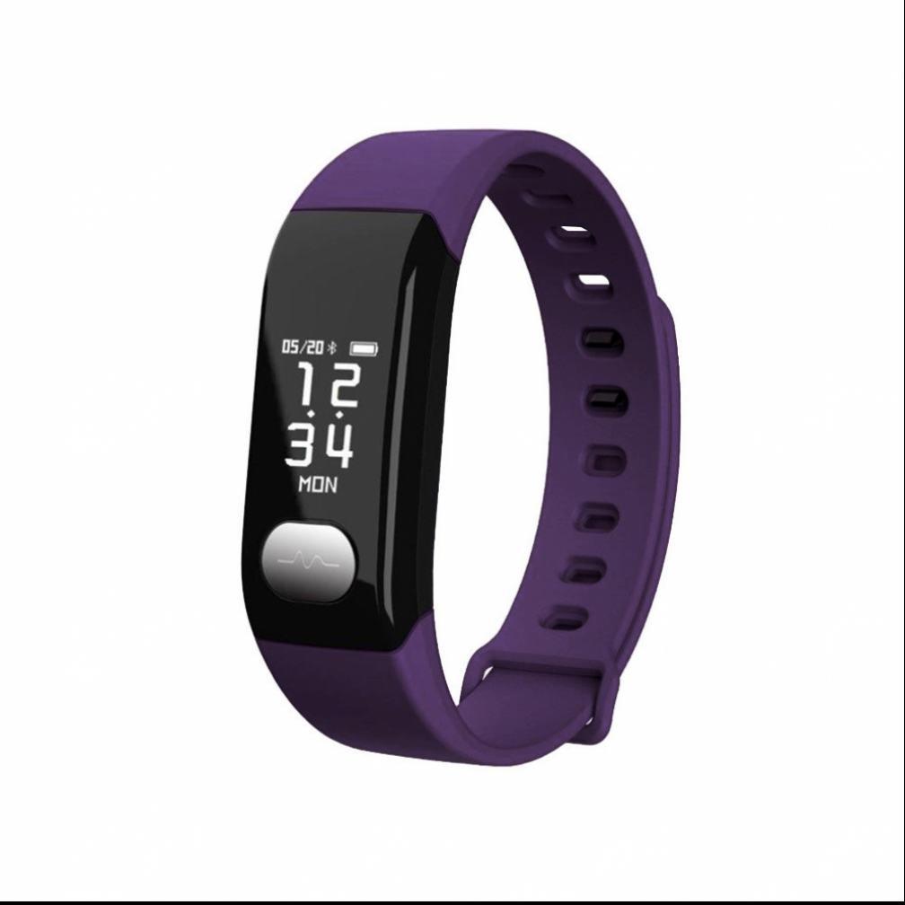 Pulsmesser Blautooth LED Fitness Armband Smart Armband,Vollfarb Display,Bewegungserkennung,Schlafanalyse,sport uhr Elegant LED Blautooth Smartwatch,Freisprechen Anrufe funktion,für Android sony apple 17b608