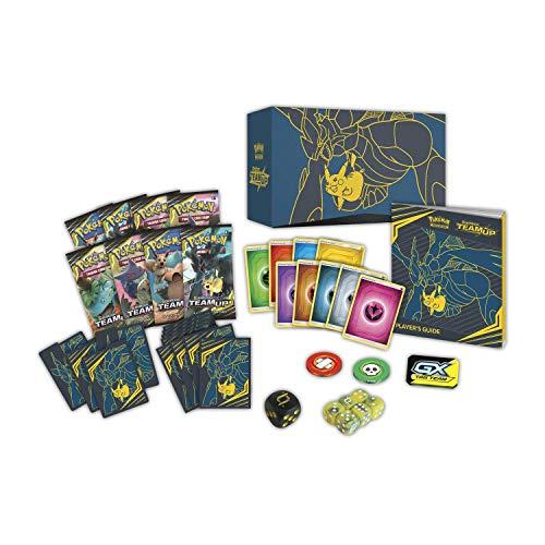 NEW Pokemon Sun /& Moon Team Up Elite Trainer Box Multicolor
